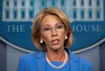 US Secretary of Education Betsy Devos