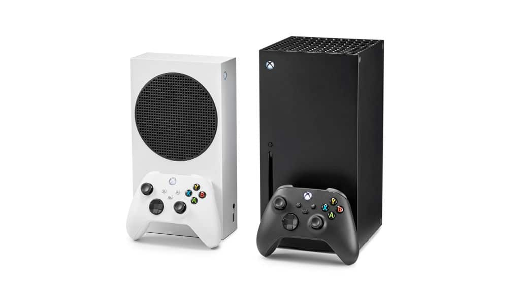 The Xbox Series S and X
