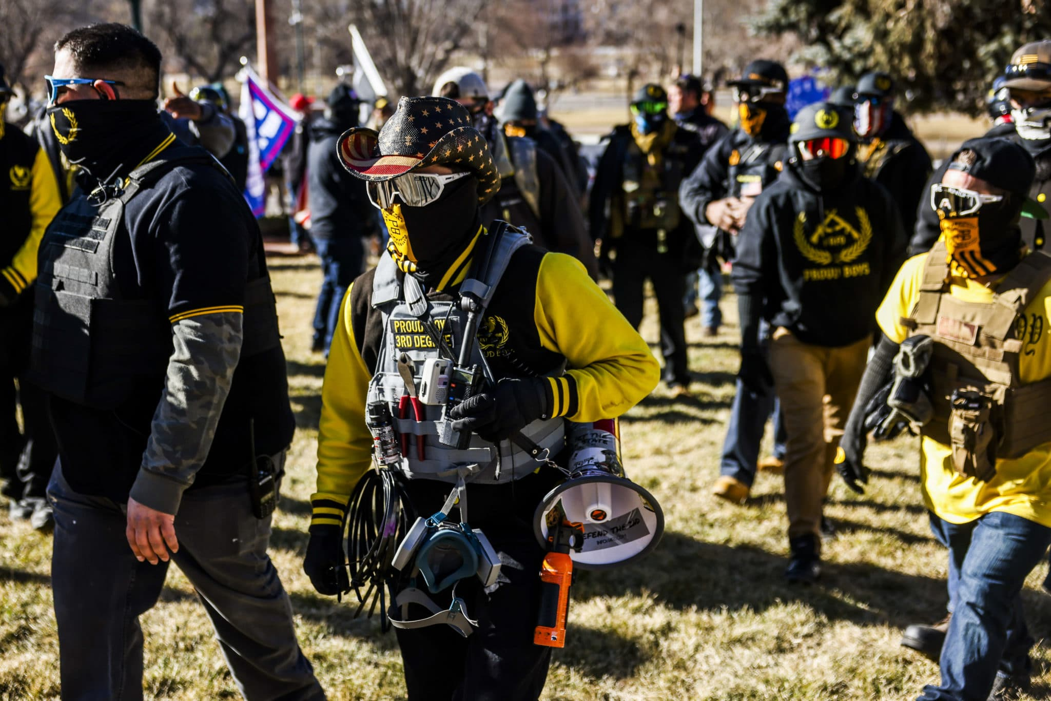 Canada's Parliament unanimously condemned the Proud Boys as a white supremacist terror organisation.