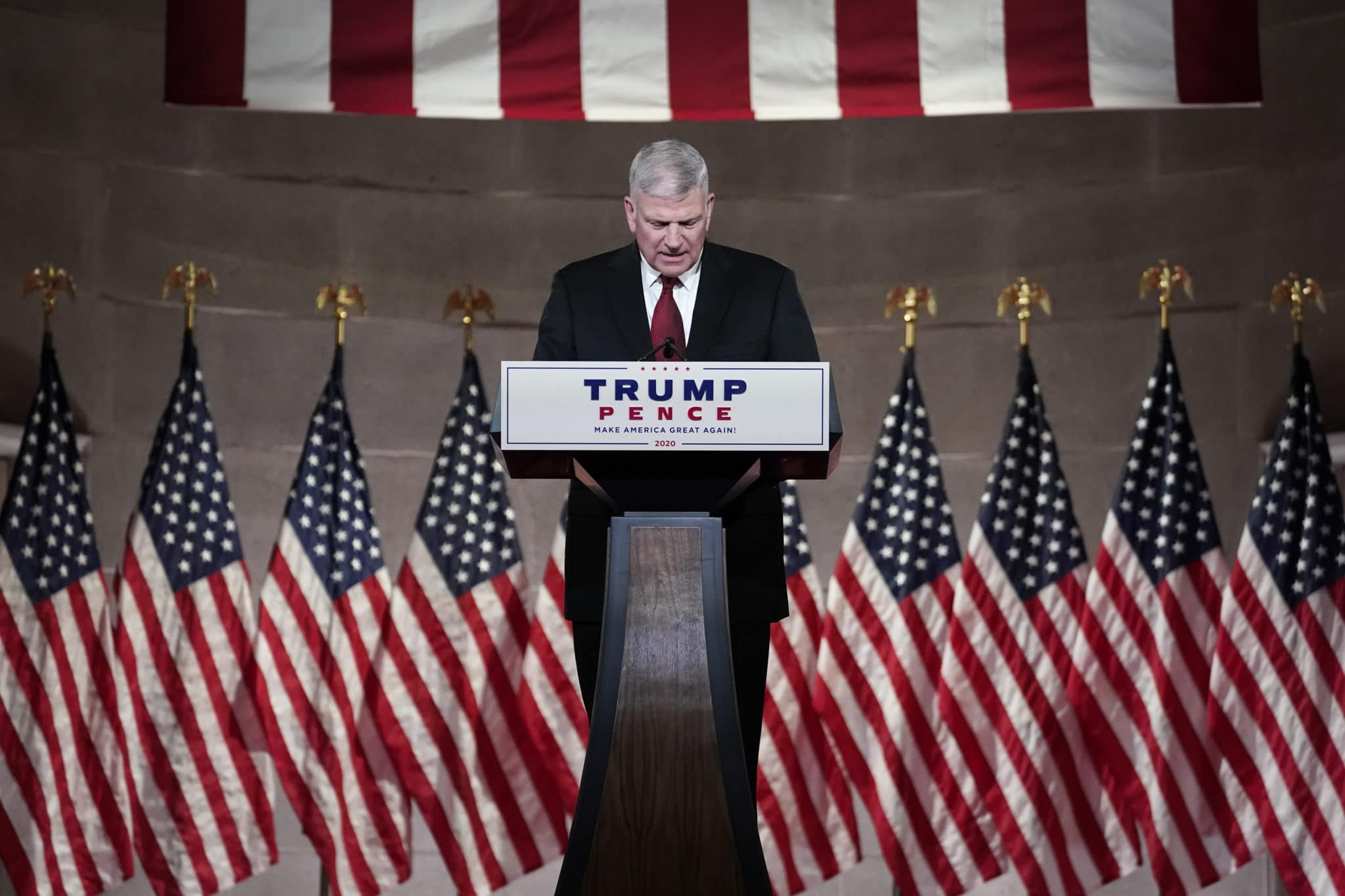 Trump fanatic Franklin Graham attempted to defend Margaret Court