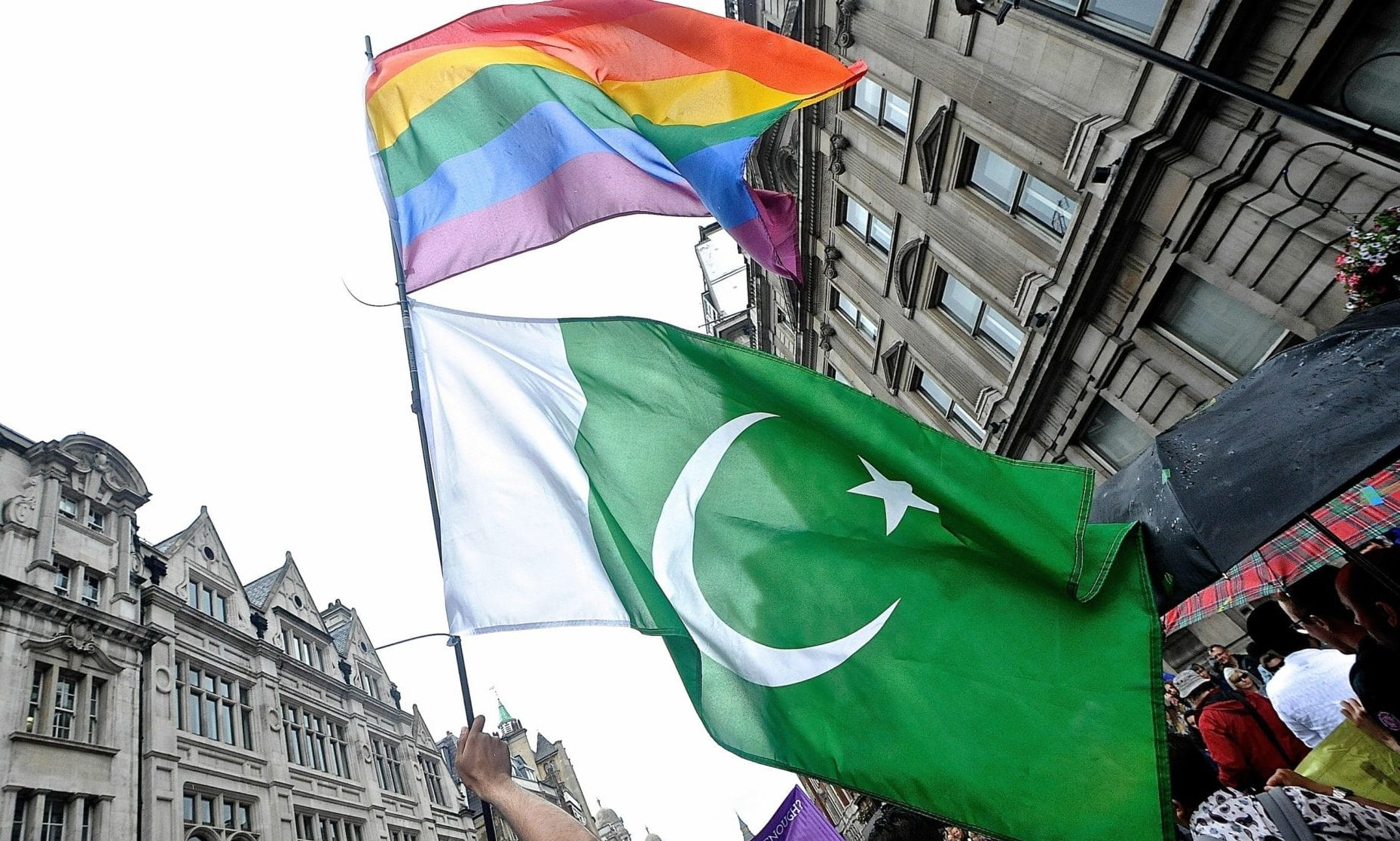 Gay sex is criminalised in Pakistan under a combination of Sharia law principles and colonial law imposed by British rulers.