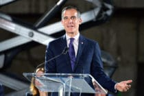 Eric Garcetti Los Angeles coronavirus gay