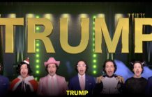 Donald Trump Broadway parody Randy Rainbow