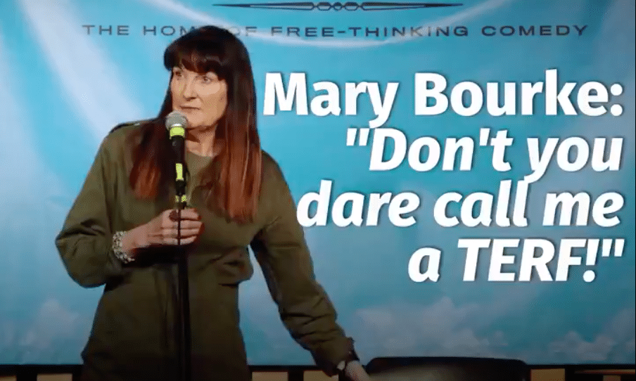 Mary Bourke: I'm 'not a TERF' for joking that only women need smear tests