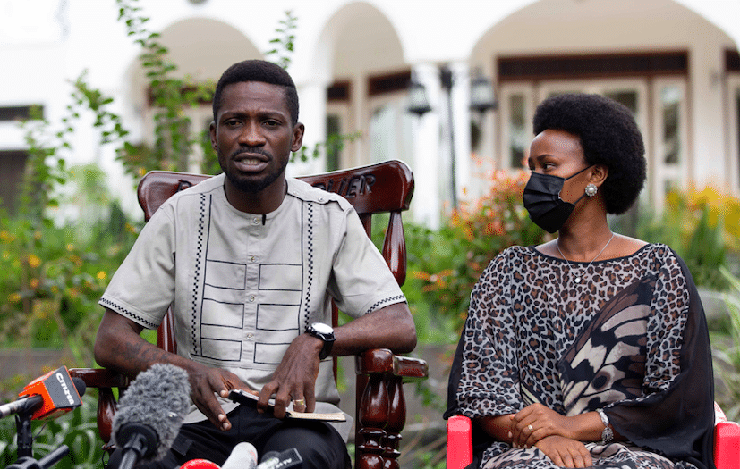 Bobi Wine: Ugandan opposition leader is 'insulted' by claims he is gay