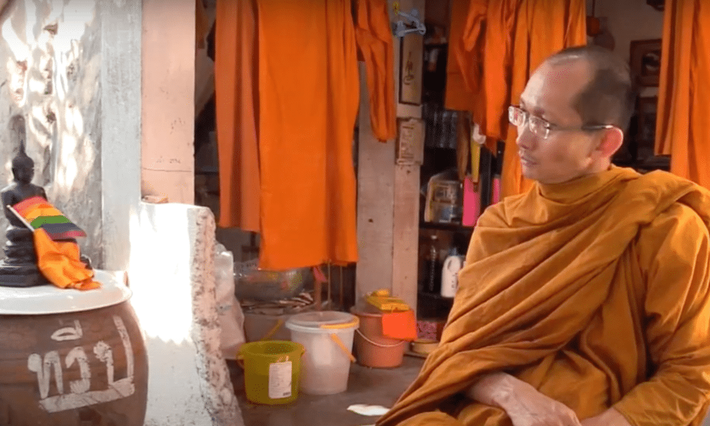 Buddhist monk Phra Shine Waradhammo has faced backlash for many years because of his socially liberal views.