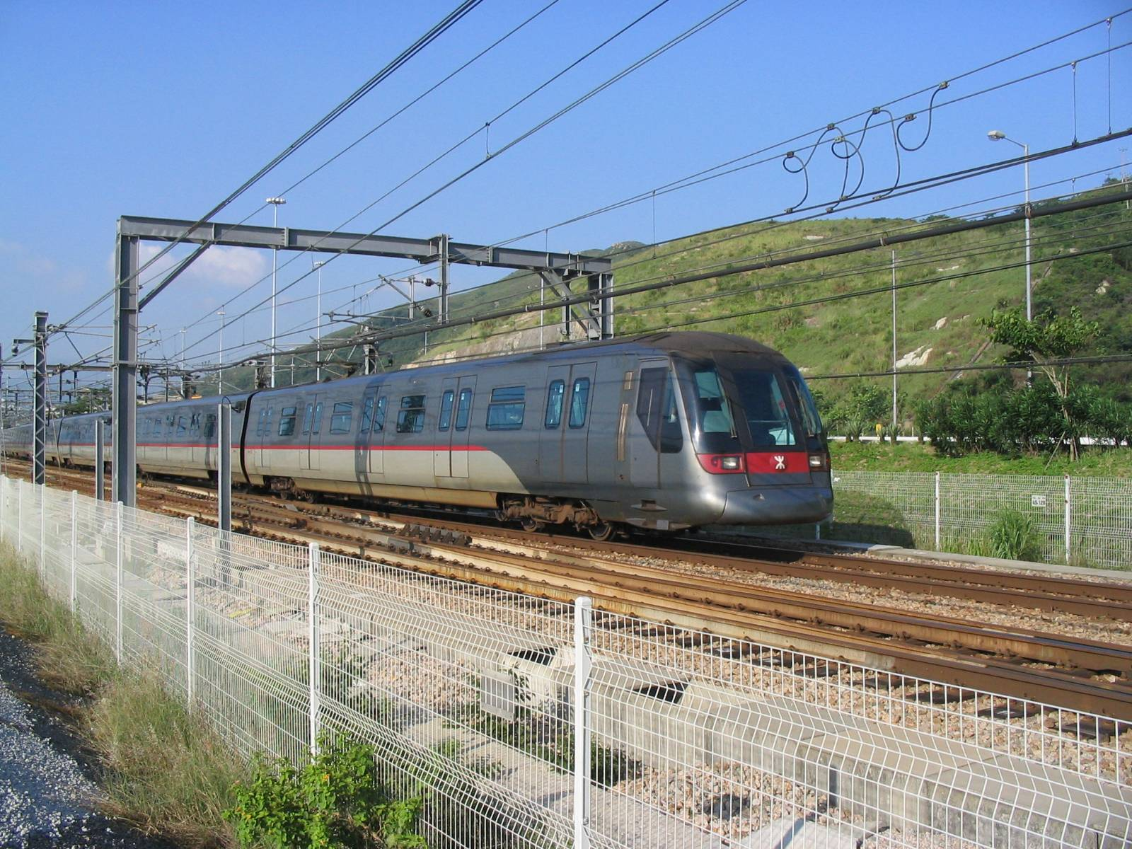 The porn video was filmed on a train believed to be operating on the Tung Chung line of the Hong Kong rapid transit system