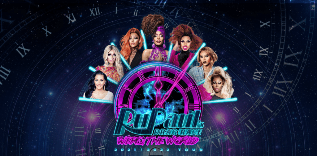 The Werq the World Tour will feature stars from RuPaul's Drag Race