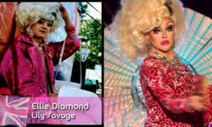 Lily Savage and Ellie Diamond