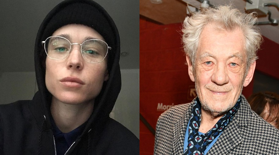 Ian McKellen shares why he's 'so happy' for Elliot Page coming out