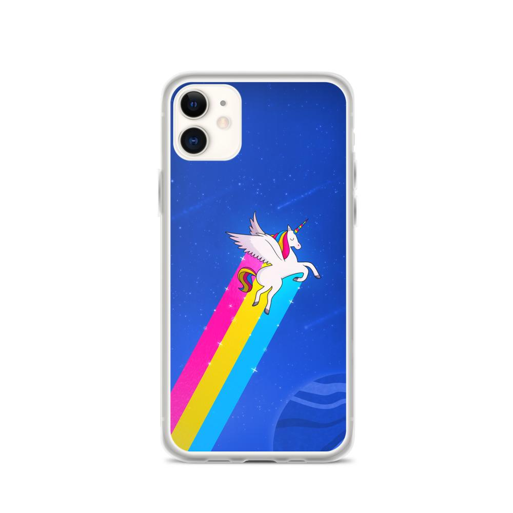 Pan Rainbow Unicorn Phone Case. (PinkNews)