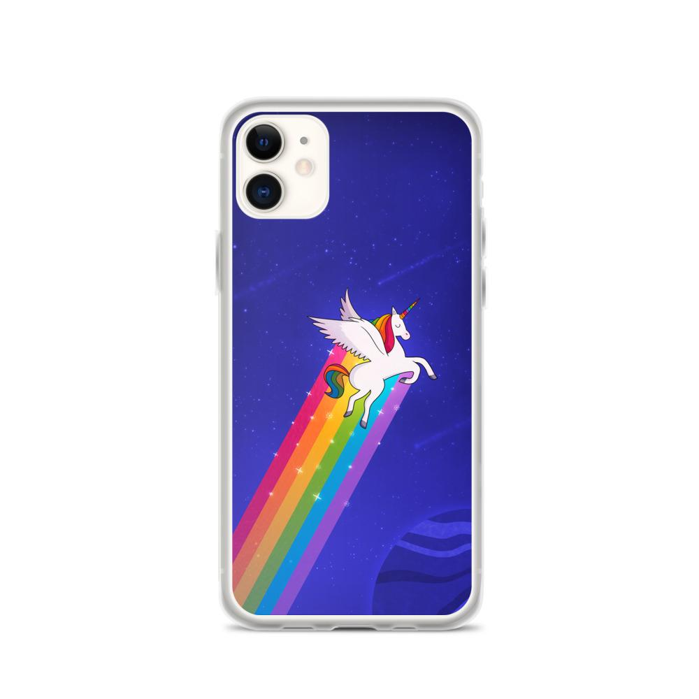Gay Rainbow Unicorn Phone Case. (PinkNews)