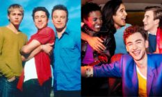 Characters from Queer as Folk and It's A Sin