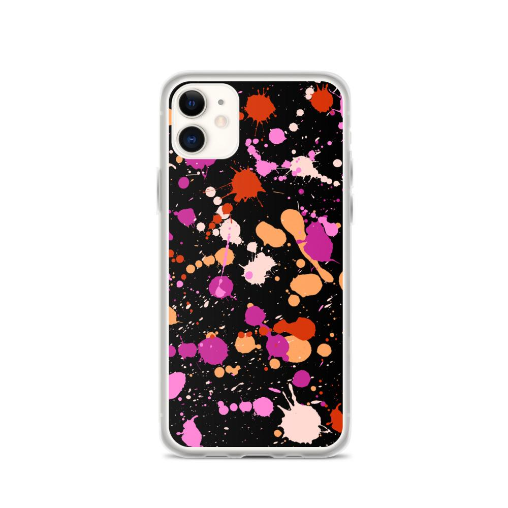 The Lesbian Paint Splash Phone Case. (PinkNews)