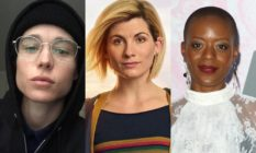 Elliot Page, Jodie Whittaker and T'Nia Miller