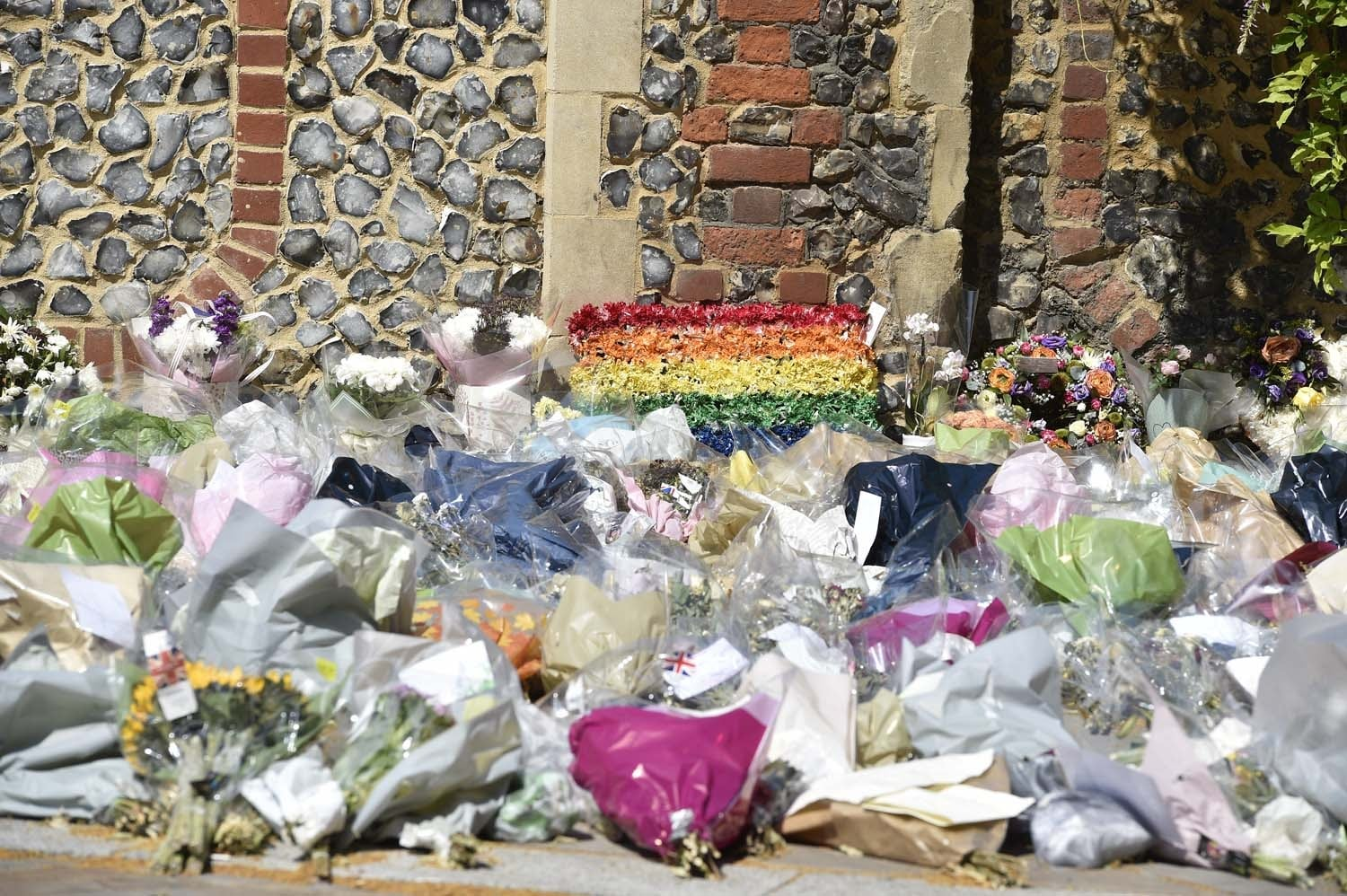 The city's LGBT+ community was devastated by the news that three of its own had been murdered in the attack