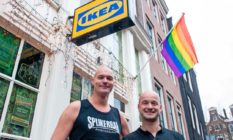 Spijker Bar: Amsterdam's oldest gay bar renamed 'IKEA' in protest