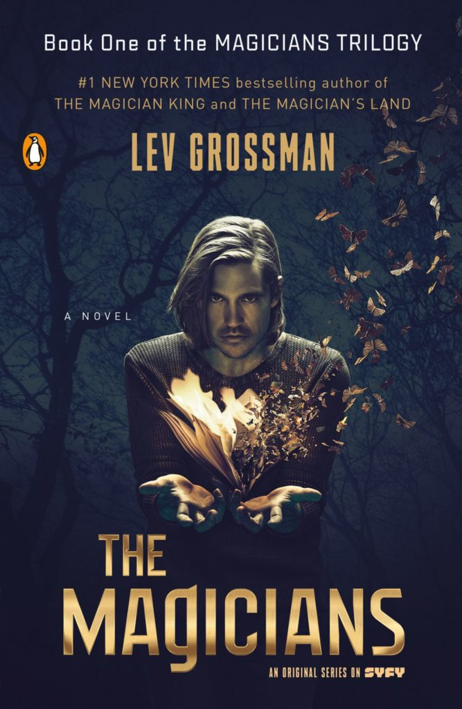 Part one in The Magicians trilogy by Lev Grossman