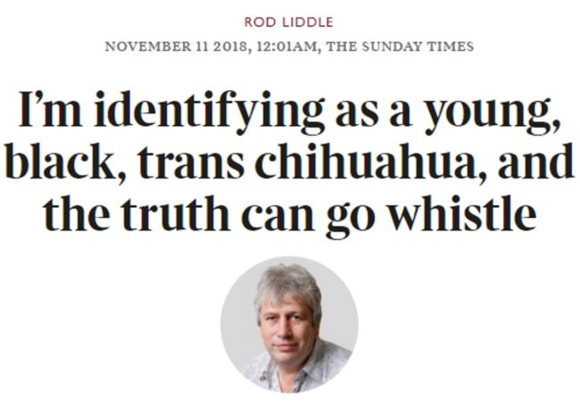 An example of some horrendous transphobic newspaper coverage