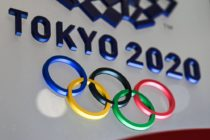 Picture of the Tokyo 2020 Olympic rings