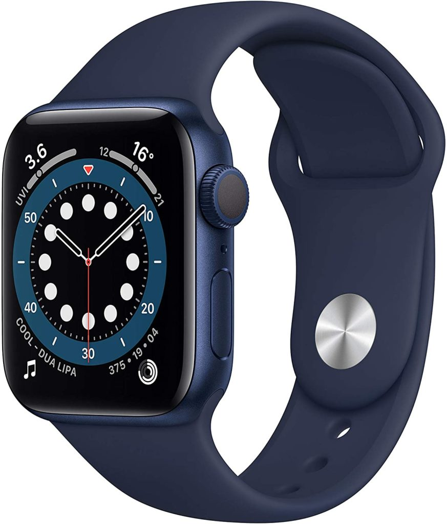 The Apple Watch Series 6 edition is available in blue, red, rose gold, silver and space grey. (Apple/Amazon)