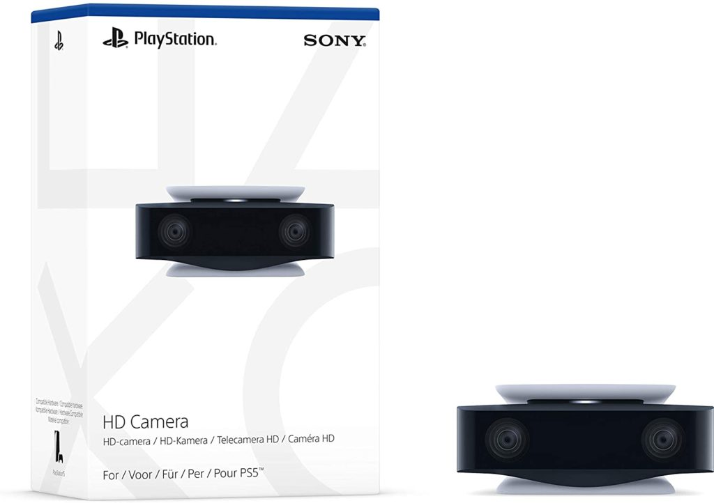 The HD Camera for the PlayStation 5.