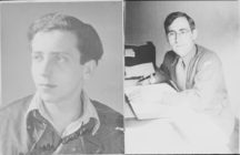 gay Jewish couple Manfred Lewin (left) and Gad Beck (right)