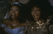 Brandy and Whitney Houston star in the 1997 remake of Cinderella. (YouTube)