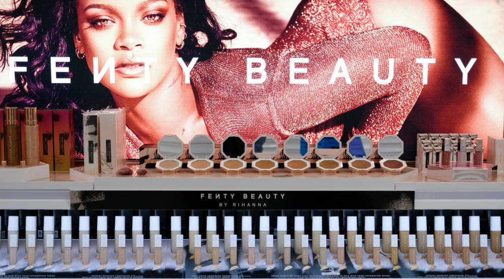 Fans in the UK can shop Rihanna's Fenty Beauty at Boots.