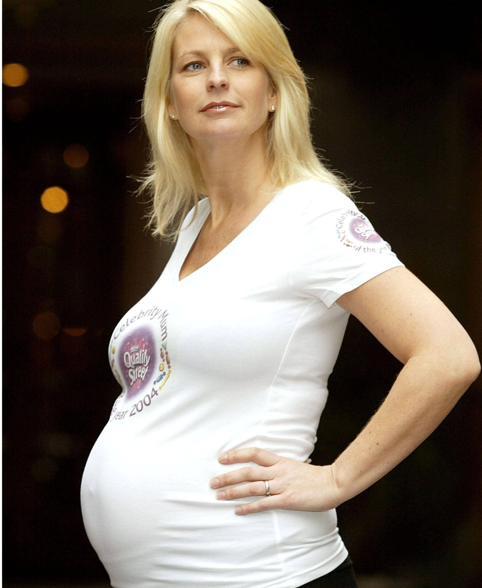 Ulrika Jonsson during Celebrity Mum of The Year 2004