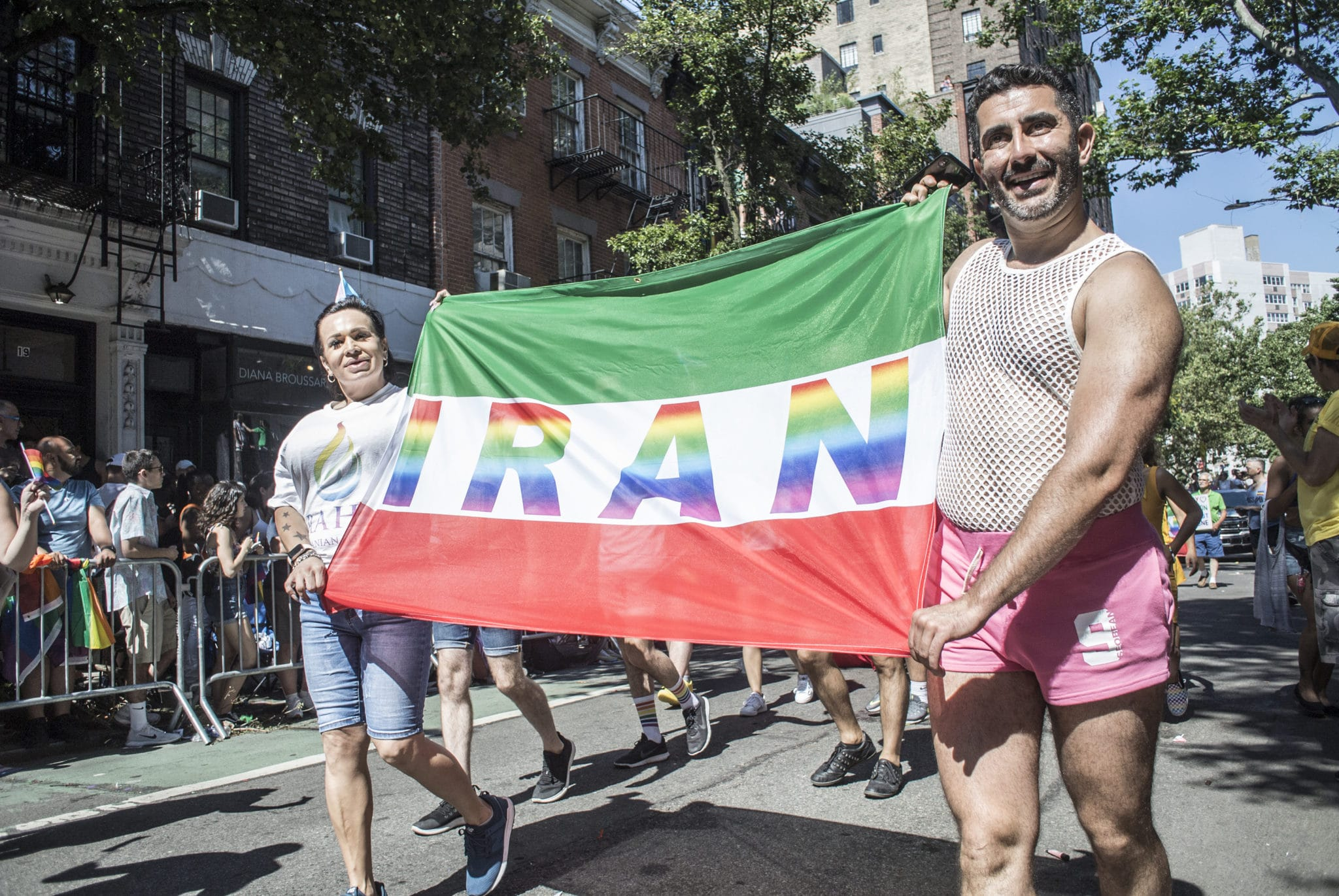 LGBT+ people in Iran face the death penalty or lashings for same-sex intercourse.