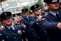 military personnel LGBT pride