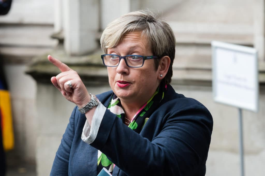 Scottish nationalist MP Joanna Cherry sent a letter to River City actor David Paisley.