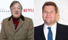 Stephen Fry James Corden