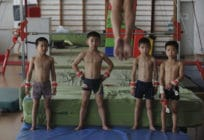 Young gymnasts in China