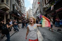 Turkey LGBT rights pride protest