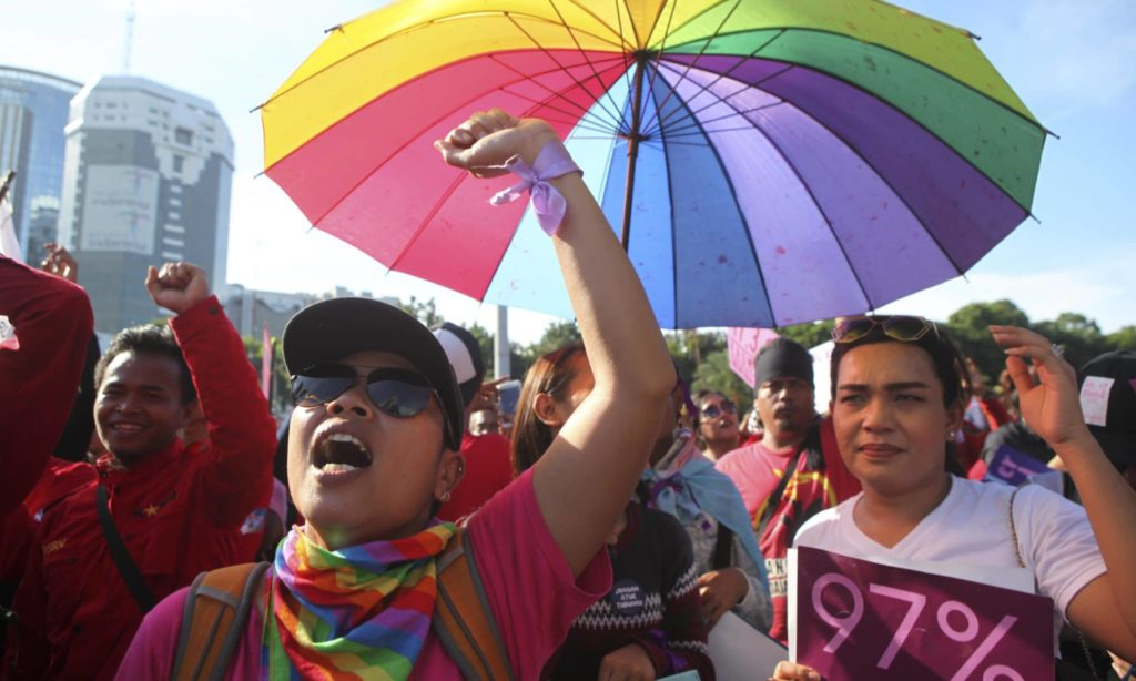 LGBT+ people in Indonesia have no legal protection against discrimination.