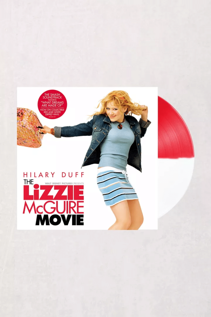 The Lizzie McGuire Movie soundtrack. (Urban Outfitters)