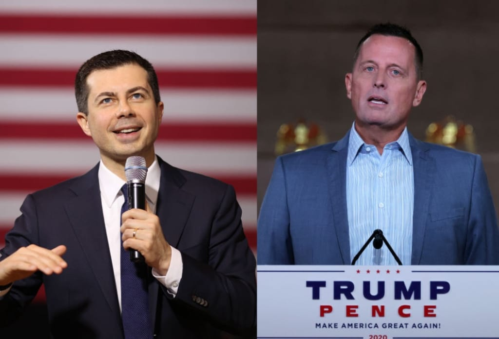 Pete Buttigieg Richard Grenell