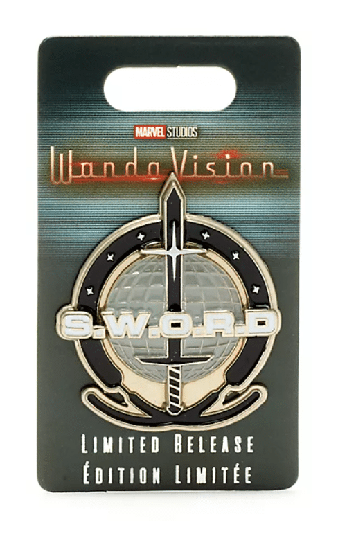 The limited edition S.W.O.R.D pin is priced at £12. (Disney)