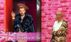 Drag Race UK raven RuPaul