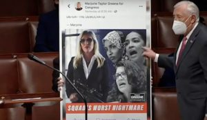 Steny Hoyer Majorie Taylor Greene The Squad facebook post
