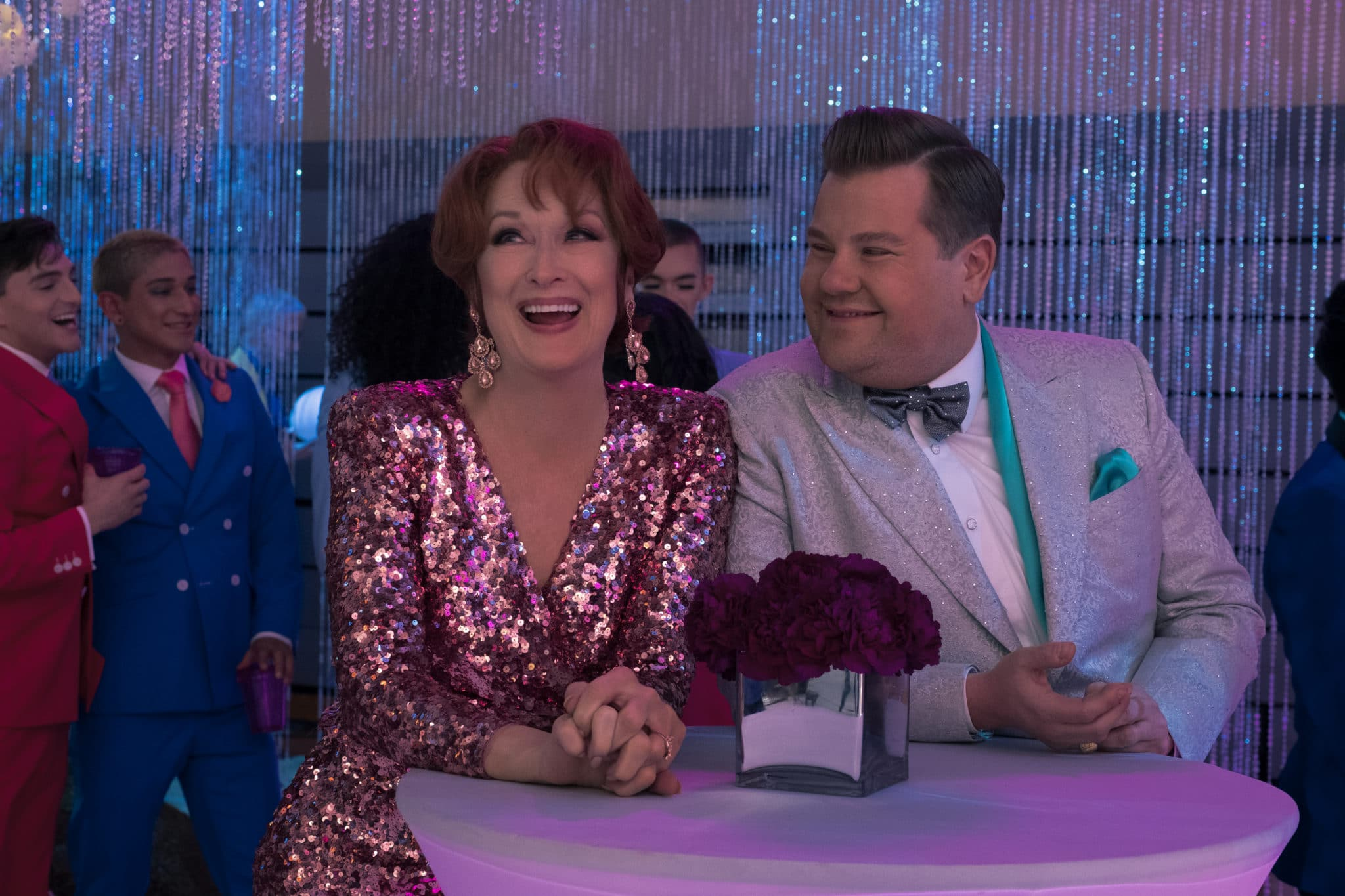 James Corden has received a Golden Globe nomination for his critically-panned role in The Prom