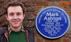 Mark Ashton co-founded Lesbians and Gays Support the Miners in 1984