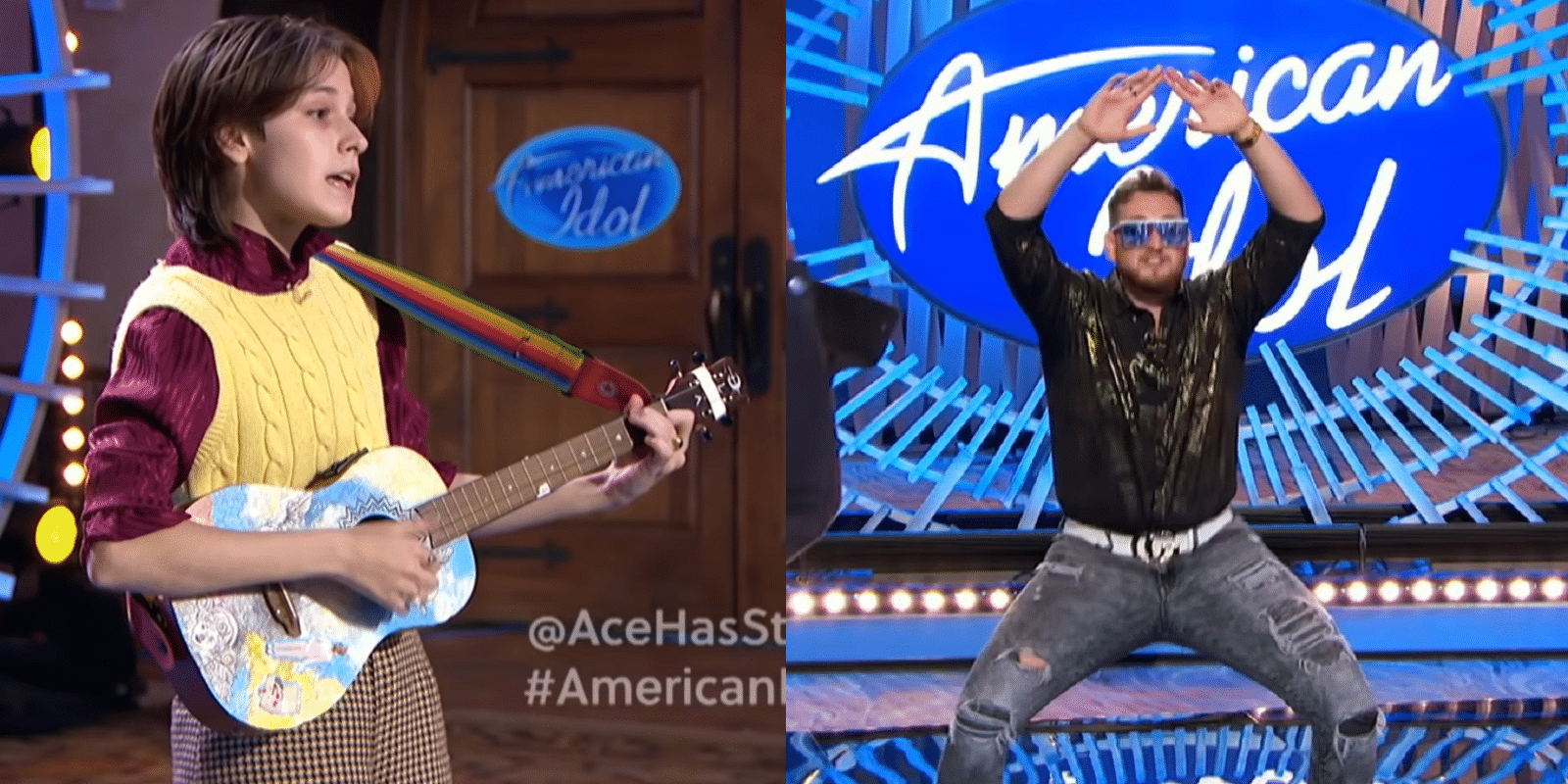 Trans teen Ace Stiles was sent home by the American Idol judges, while acts with no singing ability sailed through