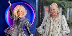 Drag Race UK star Baga Chipz is catfishing as Kim Woodburn on The Celebrity Circle