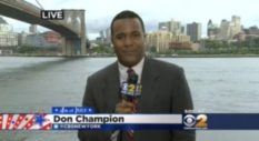 TV journalist Don Champion has alleged he experienced homophobia from higher-ups at CBS