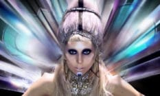 Lady Gaga in the music video for 'Born This Way'