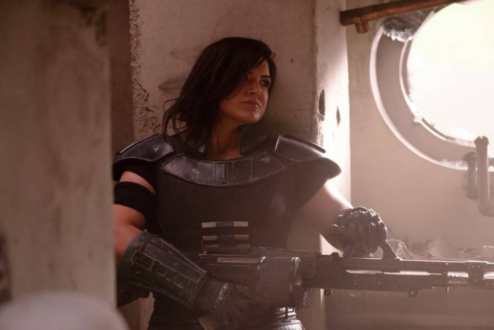 gina carano the mandalorian star wars disney