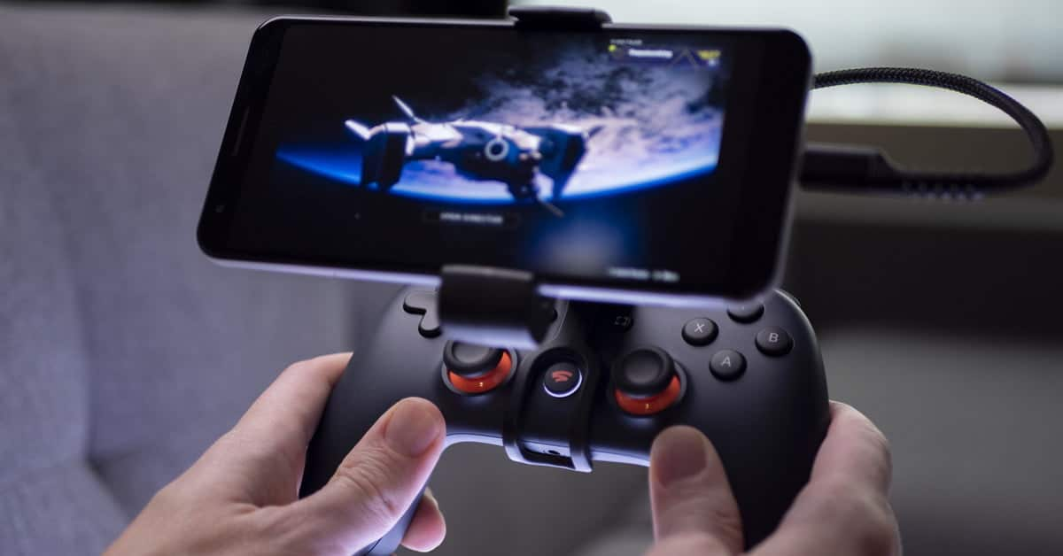 Google Stadia games pro controller mobile gaming